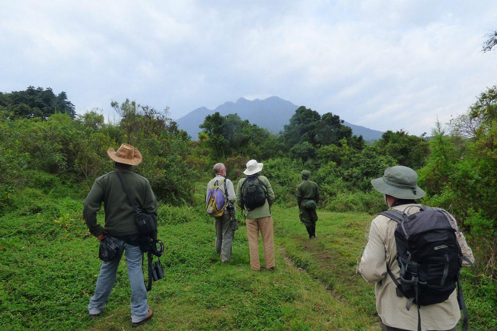 Hiking Mount Gahinga Uganda