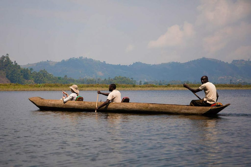 Backcountry Lake mutanda canoe trip adventures