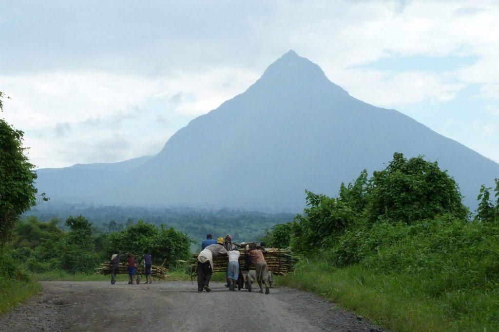 Mount Mikeno Virunga Chain