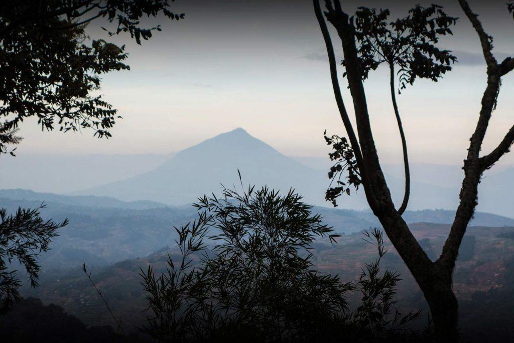 Hiking Virunga Mount Muhabura Uganda